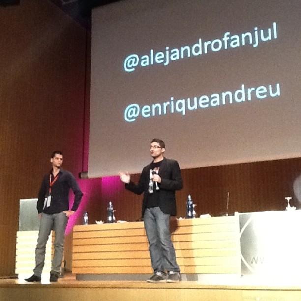 El I Congreso Web celebrado en Zaragoza, un éxito de principio a fin. - 1