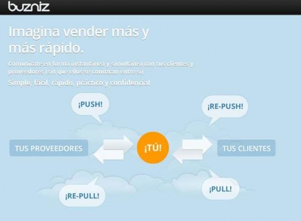 Buzniz, una red de microblogging pensada para vendedores