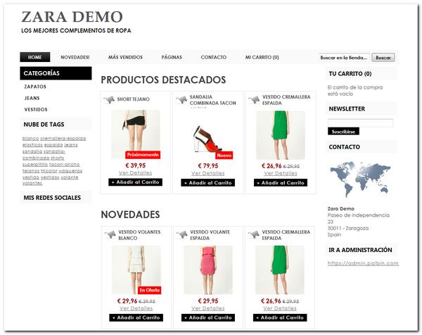 84cc129a86 Como crear tu propia tienda Zara Online en menos de 5 minutos