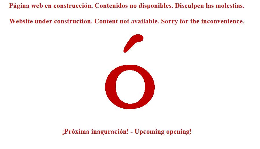 Ejemplo de página web en construcción Palbin.com