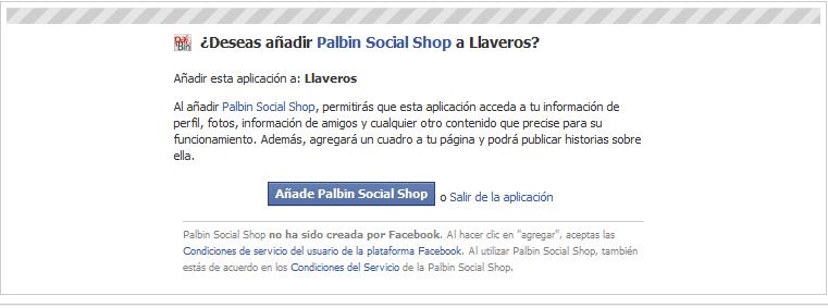 Paso 4: Tienda social en Facebook