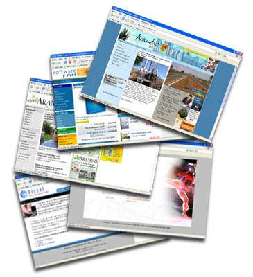 Páginas de contenido visibles