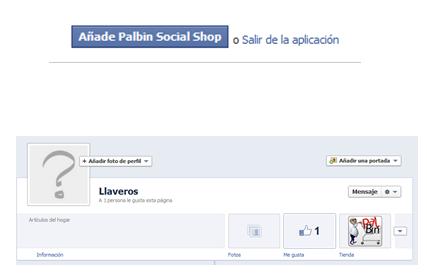 Paso 5: Tienda social en Facebook