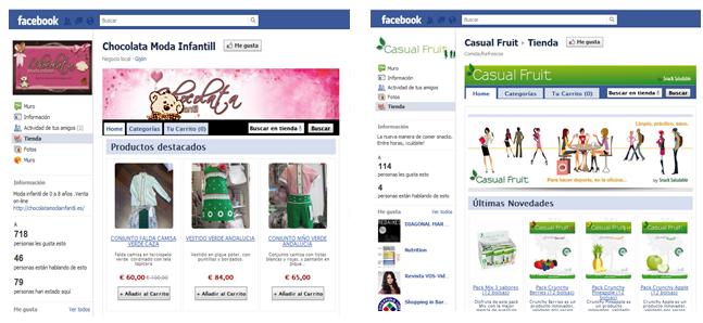 Tienda social en facebook con Palbin