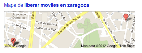 Dirección-Zaramovil-Zaragoza